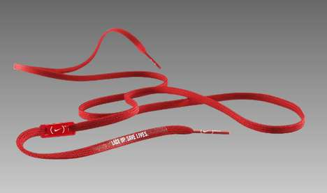 EndAIDS Nike Red Laces