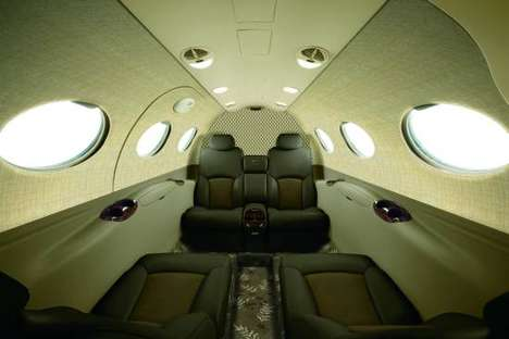 Spacious Business Jets - The Mustang High Sierra Edition Jet is Super Comfortable