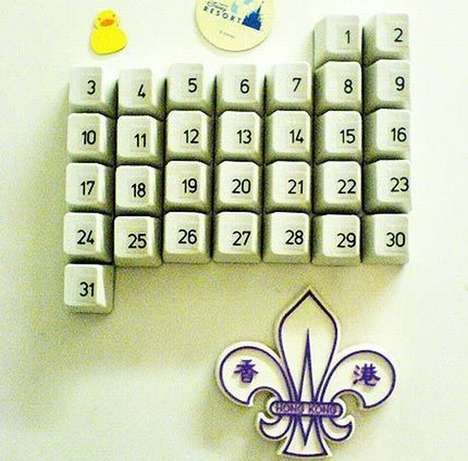 DIY Keyboard Calendar