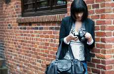Protective Camera Purses - The Nevis is a Fashionable Carrier for Your DSLR