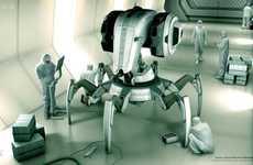 Crabby Police Bots