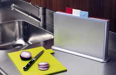 Categorized Kitchenware - The Index Chopping Board Keeps Things Clean and Organized