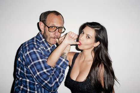 Terry Richardson Kim Kardashian