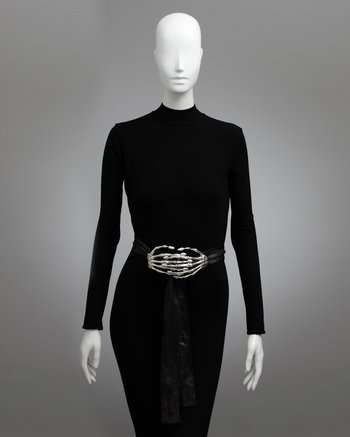 Delfina Delettrez Skeletor Belt