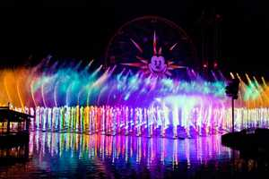 'World of Color' New After-Dark Entertainment at Disneyland