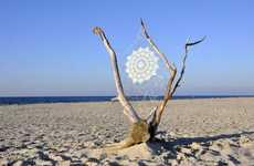 Webbed Beach Art