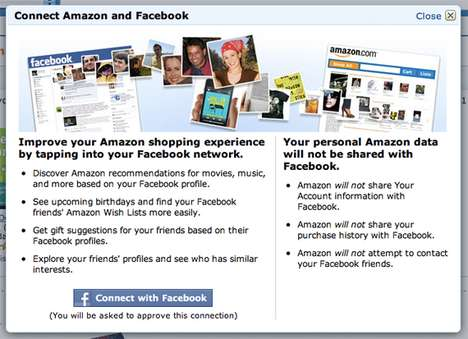 facebook and amazon