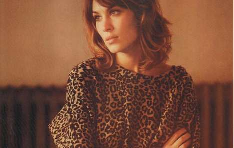 alexa chung l officiel august 2010