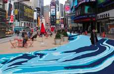 Pedestrian-Only City Centers - Norway's Snohetta Designs a Car-Free Times Square