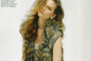 The Sara Blomqvist Vogue Turkey August 2010 Spread is Super-Cozy