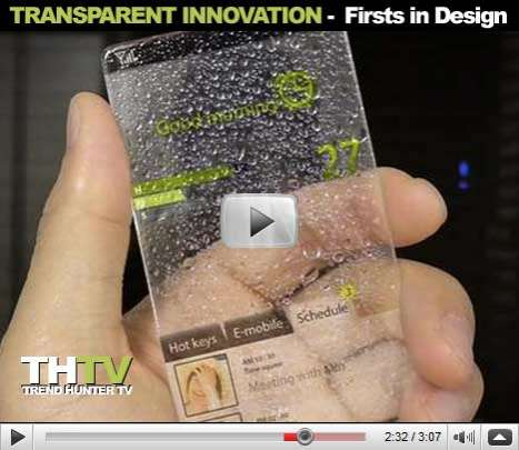 Transparent Innovation - Sprint Firsts in Design