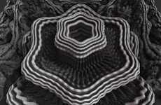 Trippy Ecosystem Art