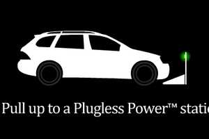The Plugless Power EVSE Charging Station is Cord-Free