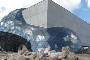The Salvador Dali Museum is a Piece of Architecture with Many Mediums