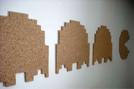 DIY Pac Man Cork Board