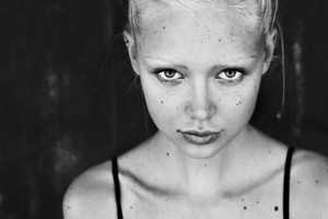 This Black and White Kaja Sokola Spread Shows Off her Edgy Side