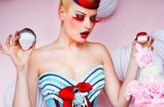 Bakery Burlesque - Maya Hansen's Cake Corsets are Sweet Waist-Whittling Treats