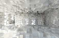 Real-Life Pixelation Art - Stephane Malka Rue Sans Frontieres Installation is Truly Compelling