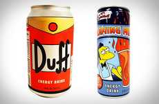 Cartoon-Inspired Cans