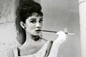 'The Lady Smokes' Smoking Accessories Channel Audrey Hepburn