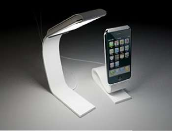 apple iphone light stand