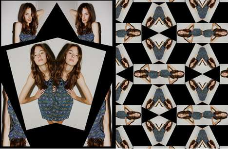 Mirror Room Lookbooks - The Margarita Saplala Spring 2010 Line is Full of Kaleidoscopic Goodness