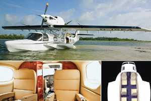The CD2 Amphibious Aircraft Travels by Air and Sea