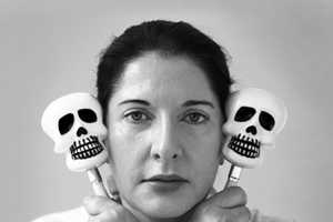 'Breathing with Skeletons' by Marina Abramovic is Creepy