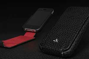 The Vaja Leather iPhone 4 Case Keeps Your Phone Sleek
