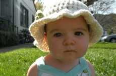 Cute Crochet Baby Caps