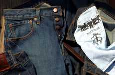 American-Made Denim Ads - The Brooks Brothers Levi's Collaboration Embodies Patriotism