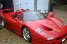 Sovereign Car Auctions - The Sultan of Brunei Sells His Custom Ferrari F50