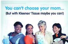Virtual Moms - The Kleenex 'Get Mommed' Campaign Nurses You Back to Health
