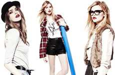 Hipster Schoolgirl Fashion - The Forever 21 FW10 Line Offers 'Back-to-Cool' Styles