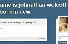 Hilarious Senior Bloggers - The Johnathan Wolcott Tumblr Blog is Entertaining and Educational