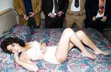 Adult Film-Inspired Shoots - Tyler Shields 'Linda Lovelace' Movie Promo Pics with Lindsay Lohan