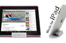 Ergonomic iPad Props