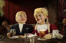 Creepy Ventriloquist Photography