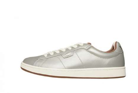 Metallic Mesh Sneakers - The Lacoste Steel Racquet Collection is Inspired by Tennis Equipment