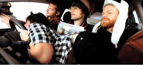 Hipster-Mocking Commercials - The Honda Jazz 'Hipster' Video is a Parody of Trends