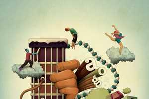 Brazilian Artist Leandro Lima Creates Playful Illustrations