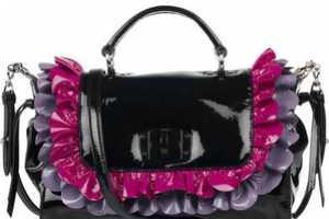 The Miu Miu Patent Leather Ruffle Bag is the Essence of Femininity