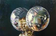 Helium Earring Art