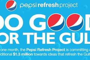 The Pepsi Refresh Project 'Do Good For The Gulf' Campaign