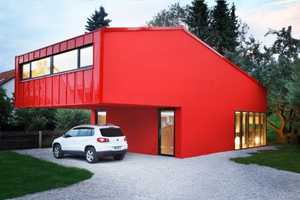 The Low Budget 'House V' by Jakob Bader Architecture