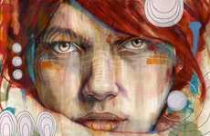 Highly Expressive Portraits - These Illustrations by Artist Michael Shapcott Come to Life