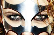 Fierce Metallic Masquerades - The 'AND_I' Iron Mask Will Prepare You For Battle