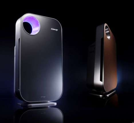 Pollution-Guaging Purifiers - The Coway AP-1008 Lets You Know How Dirty Your Air Really Is
