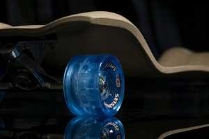 The Rolls Rolls Woody 85 Longboard Provides a Smooth Boarding Experience