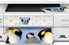 Touchpad Printers - The Epson Artisan 725 Arctic Edition is Super Stylish